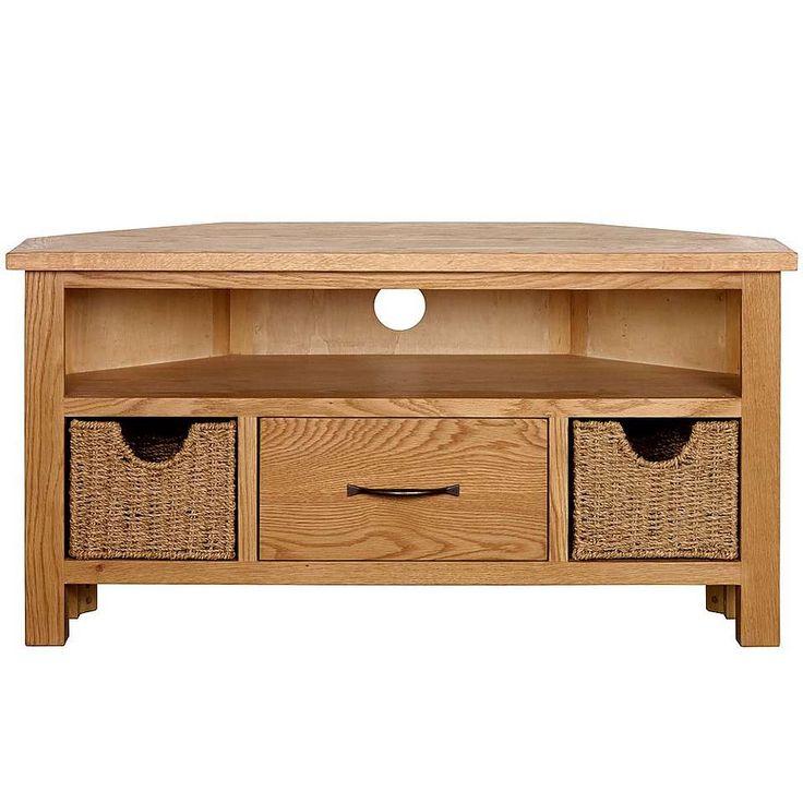 1000 ideas about oak corner tv unit on pinterest oak corner tv stand tv corner units and. Black Bedroom Furniture Sets. Home Design Ideas