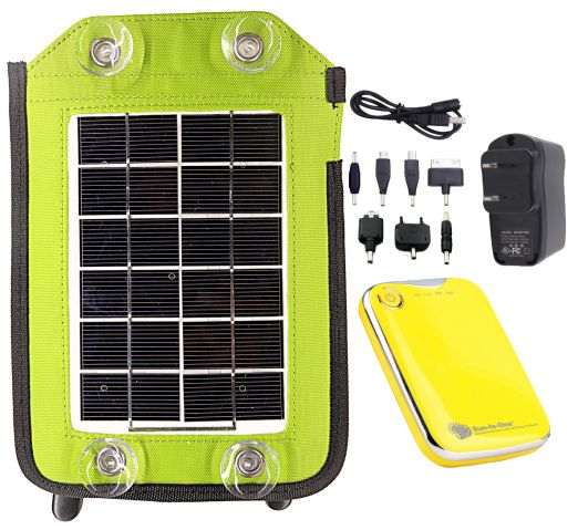 2.5 Watt Portable Solar Charger and Power Pack