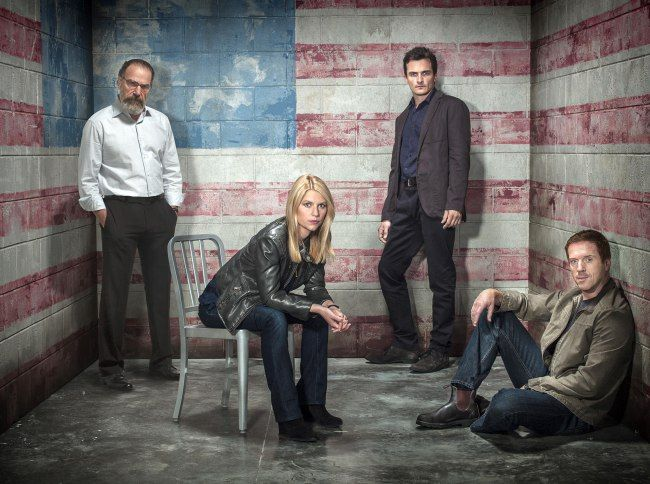 Series 3 of Homeland (Picture: Showtime)
