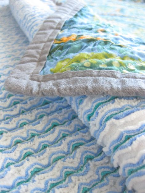 Super Cute Faux Chenille Blanket!