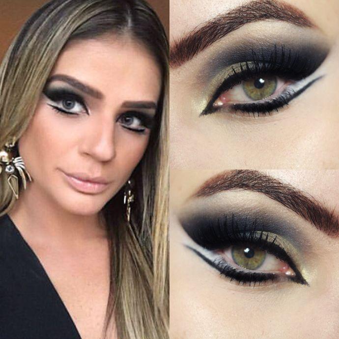 Tutorial – maquiagem Thassia Naves Egípcia Baile da Vogue