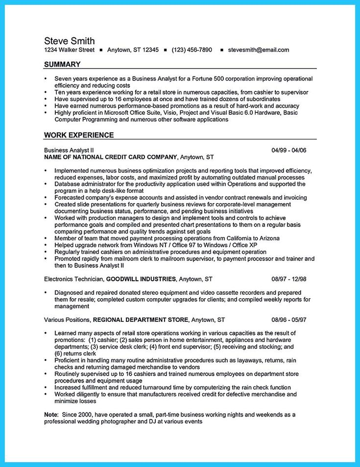 cool Create Your Astonishing Business Analyst Resume and Gain the Position, Check more at http://snefci.org/create-your-astonishing-business-analyst-resume-and-gain-the-position