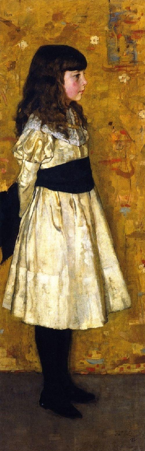 SIR JAMES GUTHRIE ::    MARGARET HELEN SOWERBY (1882)