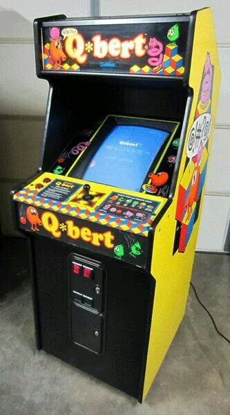 Q Bert Retro Arcade Games Arcade Game Machines Vintage