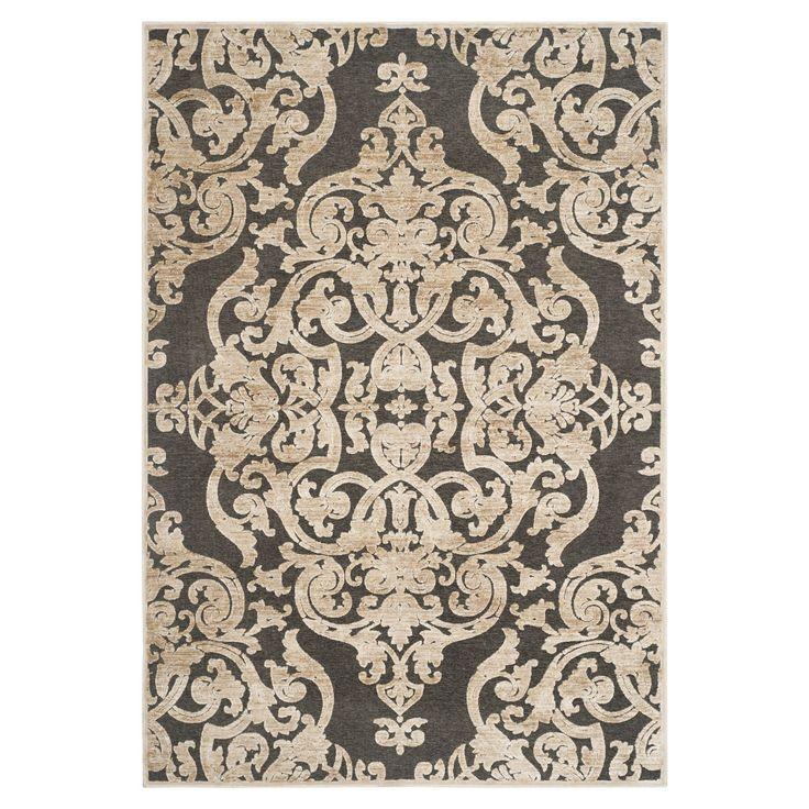 Teppich Marigot - Stein/Anthrazit - Maße: 121 x 170 cm, Safavieh Jetzt bestellen unter: https://moebel.ladendirekt.de/heimtextilien/teppiche/sonstige-teppiche/?uid=1874cdc2-fbee-5d5c-8756-e689b6bf2736&utm_source=pinterest&utm_medium=pin&utm_campaign=boards #accessoires #heimtextilien #sonstigeteppiche #orientteppiche #teppiche #safavieh