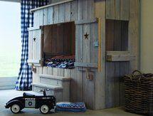 Helemaal in dromenland met het bed van steigerhout! Steigerhouten bedden   dutchwood.nl (Tip)