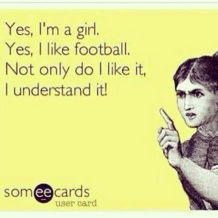 I love football season!!!