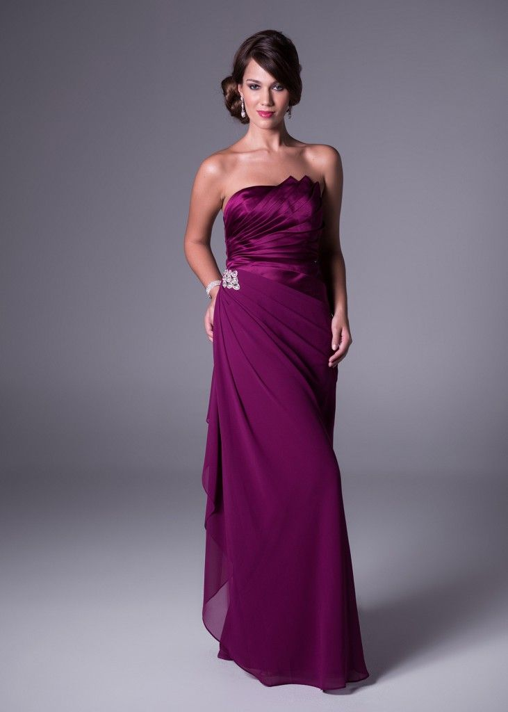 Available in 15 different colours! This gorgeous one shoulder design, with chic side-drape detail is the perfect bridesmaids dress because it can be worn afterwards for special occasions. Only available at Bride&co (style VCBM0005V3). Click to View all the Colour Options of this Dress.  One shoulder, side-drape detail bridesmaid's dress