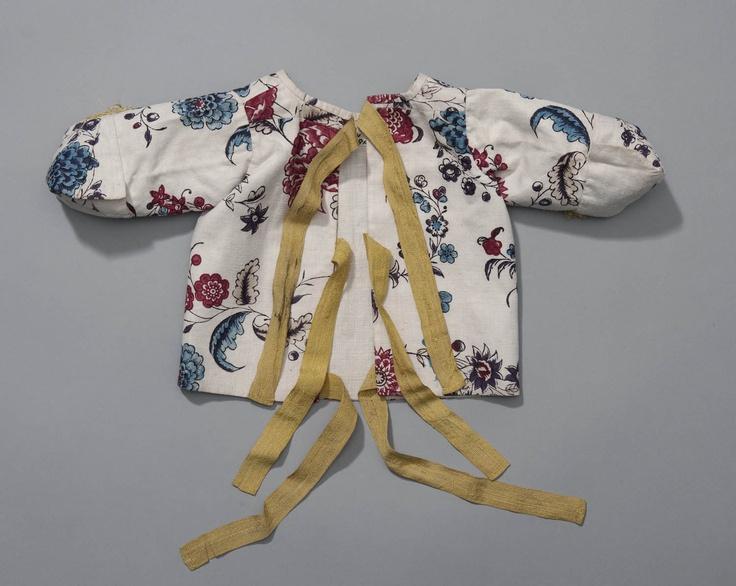 babyjakje van bedrukte katoen, 1750-1800