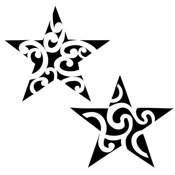 Modèles d'étoile (avec images) | Tatouage étoile, Tatouage polynésien, Tattoo etoile