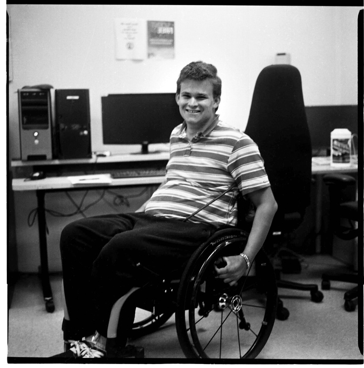 Logan is a bright young man who after participating in the Neil Squire Society's Employ-Ability Program, has found his first job in four years. Logan wrote the Neil Squire Society a letter and asked us to share it - http://www.neilsquire.ca/success-stories/logan-finds-job-years/