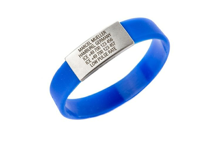 Write whatever you want on your ICEstripe Slim wristband