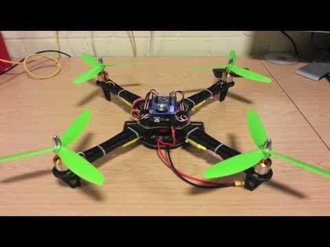 Arduino Quadcopter with Zigbee Communication