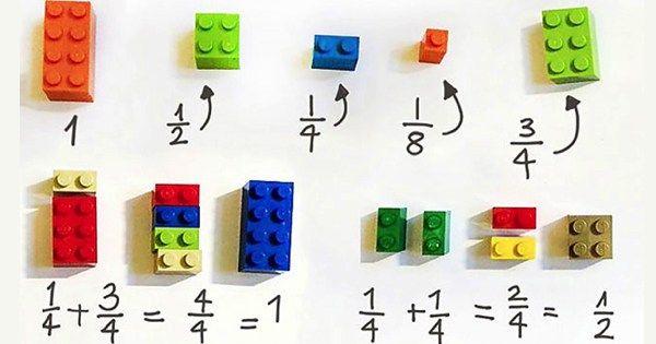 Creative 3rd Grade Teacher Uses LEGO To Explain Math To Students