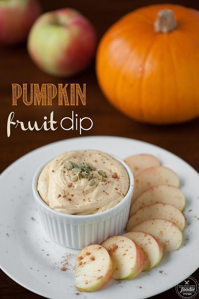 Pumpkin Fruit Dip
