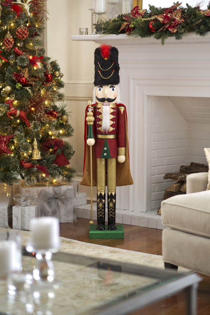 Christmas at biltmore house christmas decorations inside b - A Christmas Tradition Becomes Larger Than Life With This Holiday Nutcracker Inspired By Biltmore Available