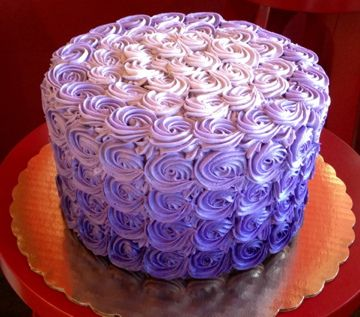 recipe: ombre rosette cake recipe [33]