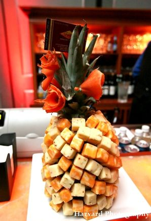 Receptions indian wedding receptions and pineapple fruit - Food decoration for wedding ...