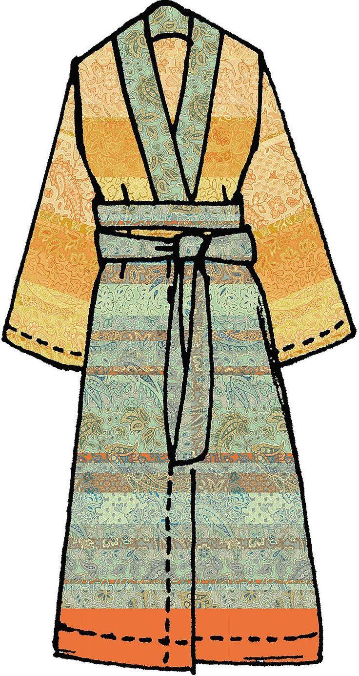 Dieser Kimono aus der Granfoulard-Kollektion von Bassetti ist fantasievoll und ausdrucksstark und verleiht der Umgebung ein elegantes Flair. Lassen Sie sich verzaubern!  Das Motiv »Montalcino« besticht durch ein modernes Patchworkmuster aus Cachemiremotiven, das mit satten Farbstreifen durchsetzt ist und sich zu einem kostbaren detailreichen Dessin fügt. Von den farbenprächtigen und klar defini...