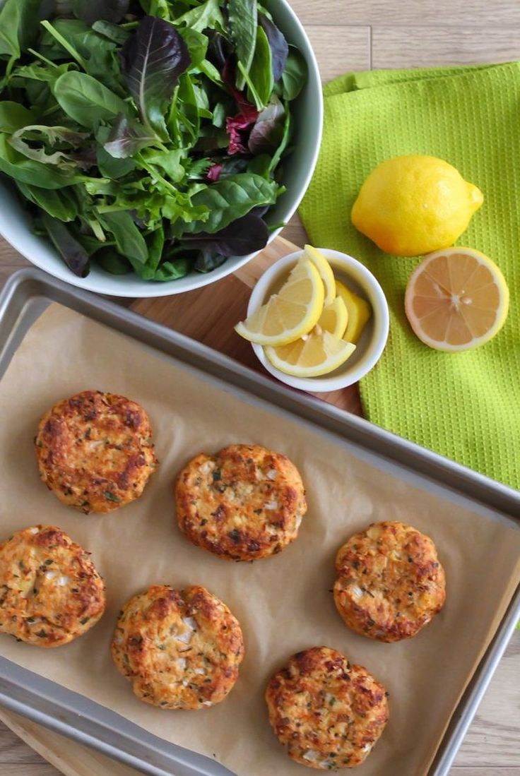 17. Lemon Herb Salmon Cakes #highprotein #meals http://greatist.com/eat/high-protein-meals-that-dont-involve-chicken