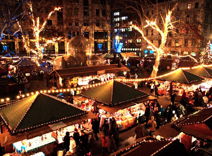 The Christmas Market on Vorosmarty Square is often thought of as the single Christmas market