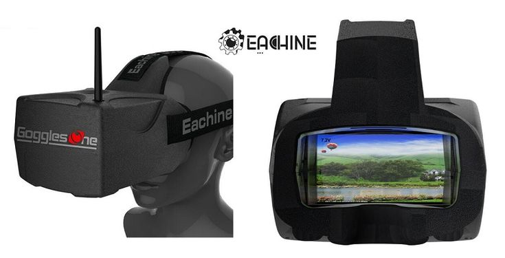Eachine Goggles TWO for racing quadcopters.