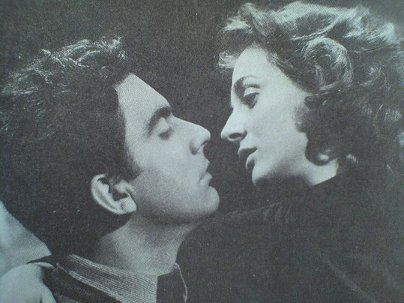 "Elli Lambeti & Dimitris Horn in ""Kalpiki Lira"". The most amazing and talented couple in Greek cinema."