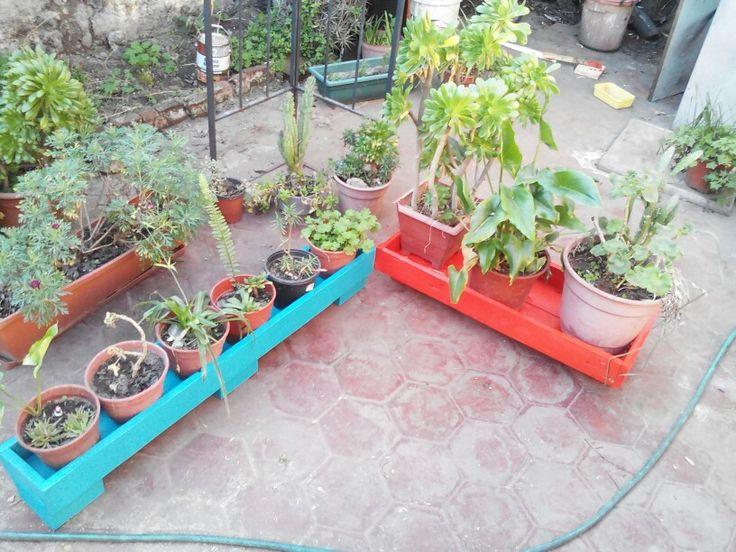 Jardineras de pallets