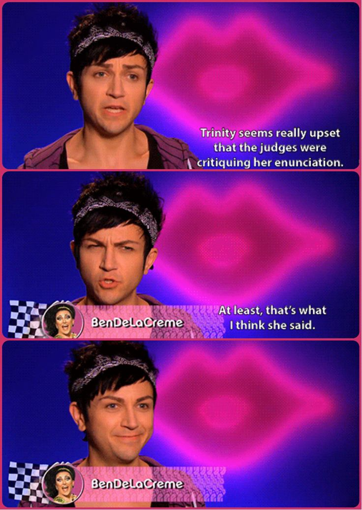 #Bendelacreme being adorable and hilarious #RuPaul's #DragRace