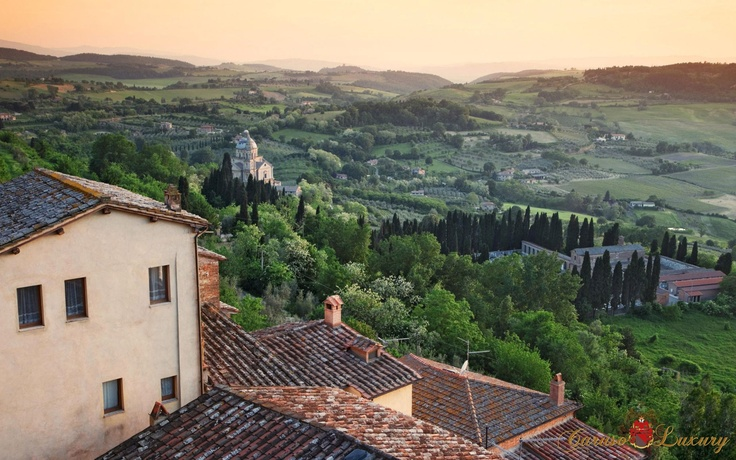 Tuscany Italy, origin of our bee honeys and olive oils