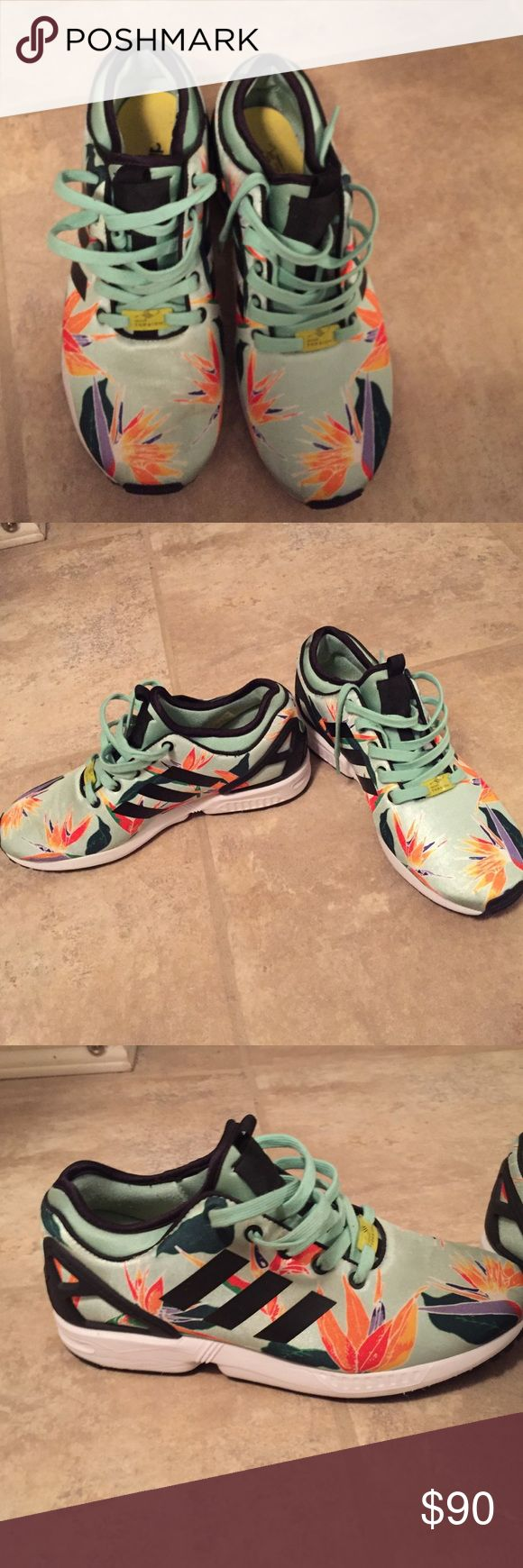 Adidas Zx flux shoes Worn 3 times. Adidas Shoes Sneakers