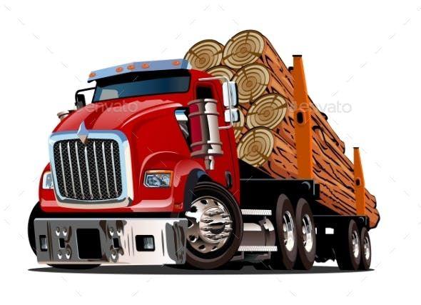 Vector Cartoon Dump Truck Dump Trucks Trucks Truck Art