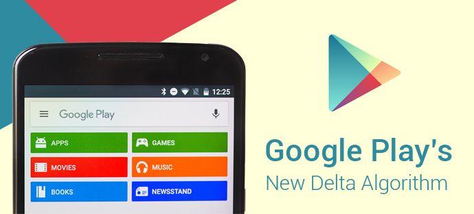 Google Play Applies New Delta Algorithm
