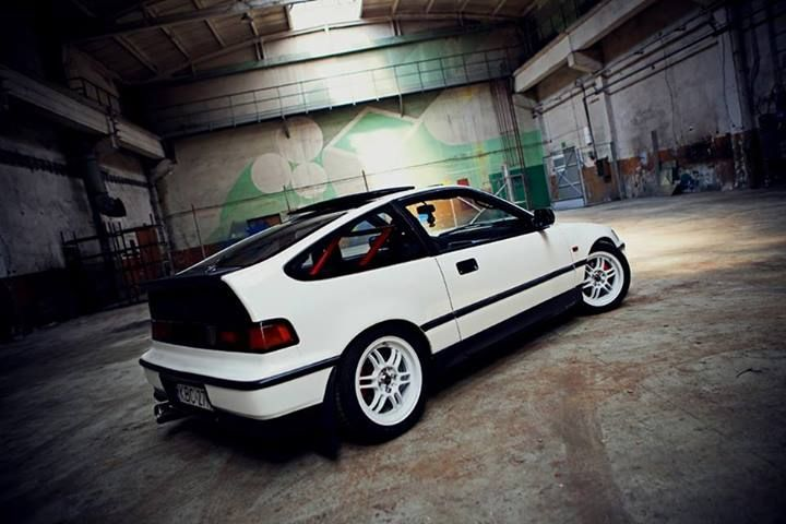 Honda CRX /// #JapanRacing Wheels JR-7 15x7 ET40mm White Full Painted http://rpmotorsport.pl/felgi-japan-racing-c-753_633_6992_7127.html  Photoshoot by EBISU Studio