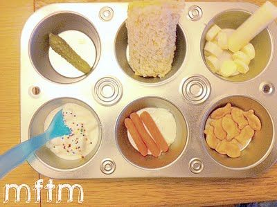 Muffin Tin Meals for picky eaters