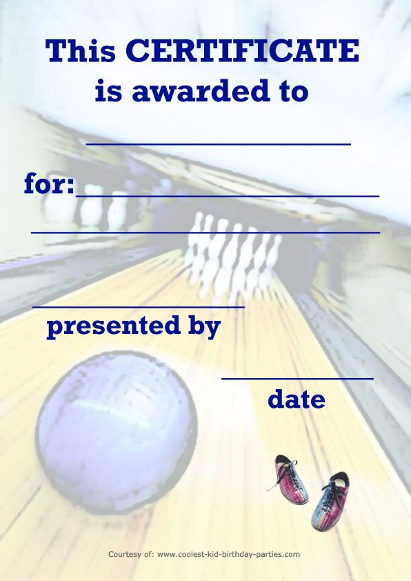bowling certificates template free - 17 best images about bowling on pinterest garden art
