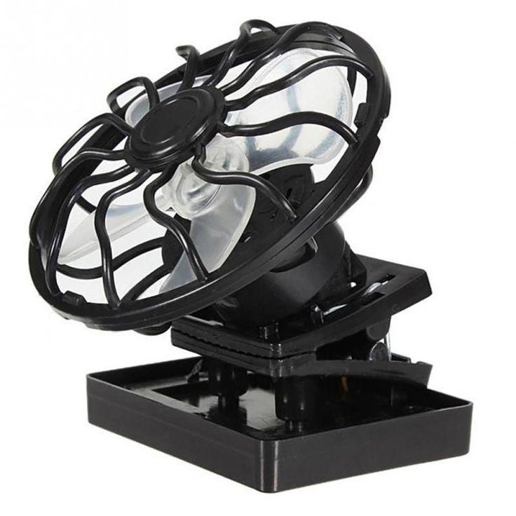 Clip-on Solar Powered Fan