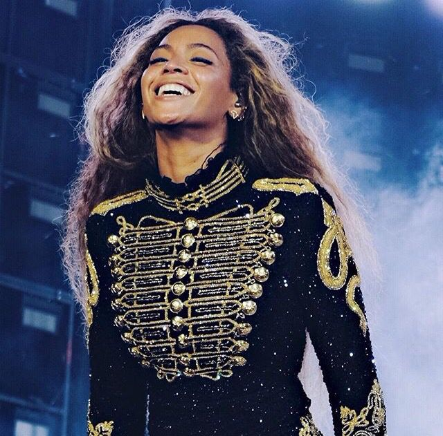 Beyonce Knowles performing for her Formation World Tour 2016