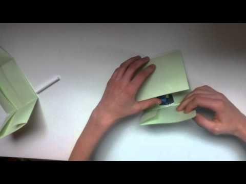 CD Hüllen aus Din A4 – Blättern falten | Kotzendes Einhorn