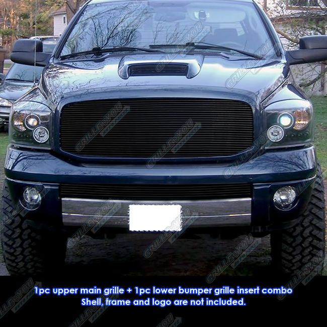 Fits 06-08 Dodge Ram Sport Black Billet Grille Combo | eBay Motors, Parts & Accessories, Car & Truck Parts | eBay!