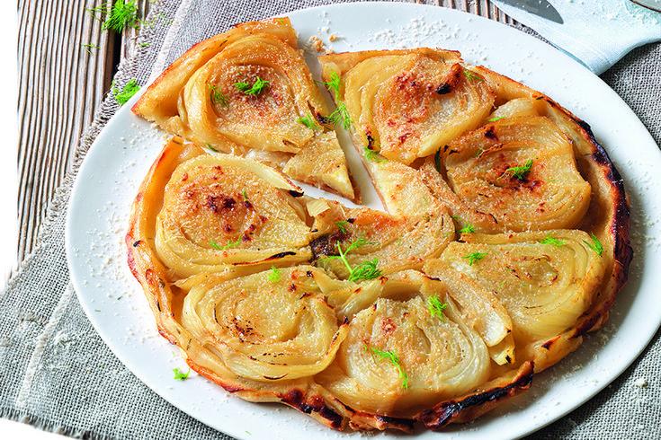 La Cucina Italiana  Tatin dolce-salata ai finocchi