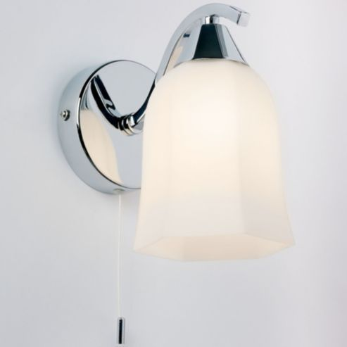 Tesco direct endon lighting alonso wall light in chrome
