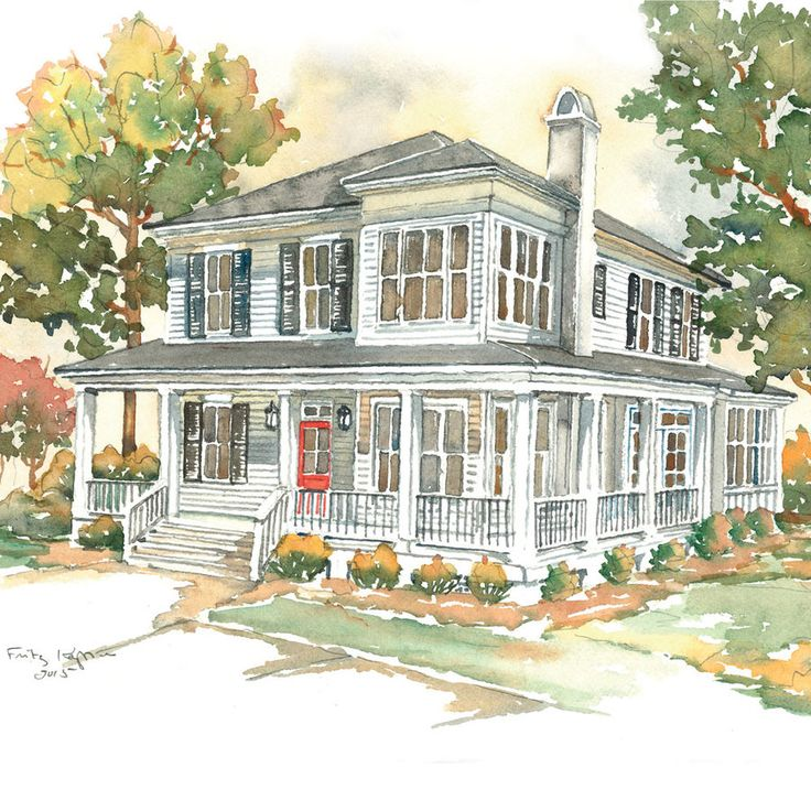 House Plans We Know You'll Love. Corner the Market Rendering