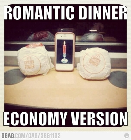 Just Another Romantic Dinner..