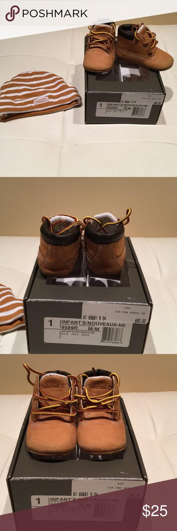 Spotted while shopping on Poshmark: 💥AUTHENTIC 💥 Infant Timberland Boot & Hat Set! #poshmark #fashion #shopping #style #Timberland #Other