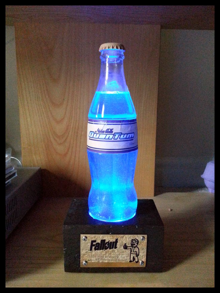 A Replica Of The Bottle Of Nuka Cola Quantum From The