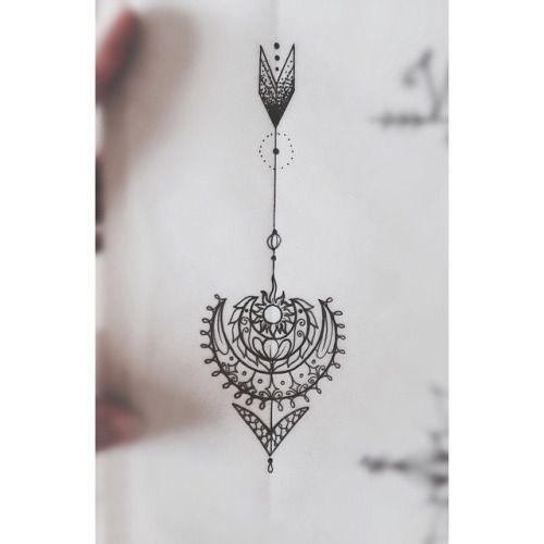 arrow sun tattoo - Google Search