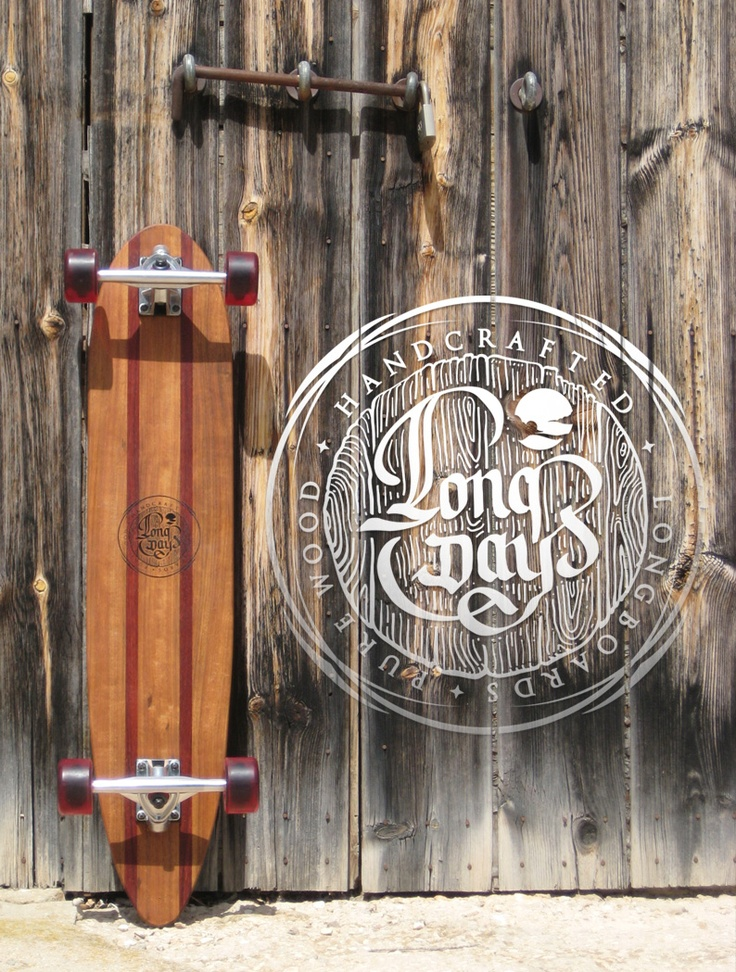 Morgan S. Long Days Longboards. Handcrafted. Pure Wood. Retro. Vintage skate.