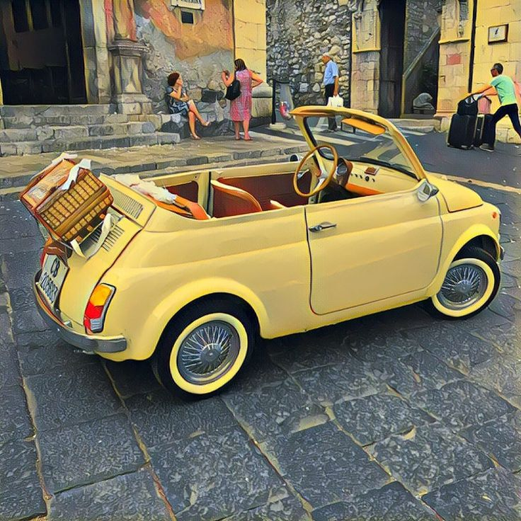 Fiat 500, Pretty Cars, Cute Cars, My Dream Car, Dream Cars, Scooter Moto, Auto Retro, Fiat Abarth, Cabriolet