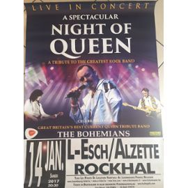Queen - Night Of Queen - Affiche / Poster Envoi En Tube - 80x120cm